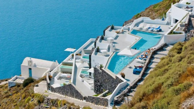 The Perfect Place in Santorini For An Active Holiday